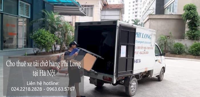 Dịch vụ cho thuê xe tải tại phố Hồng Quang