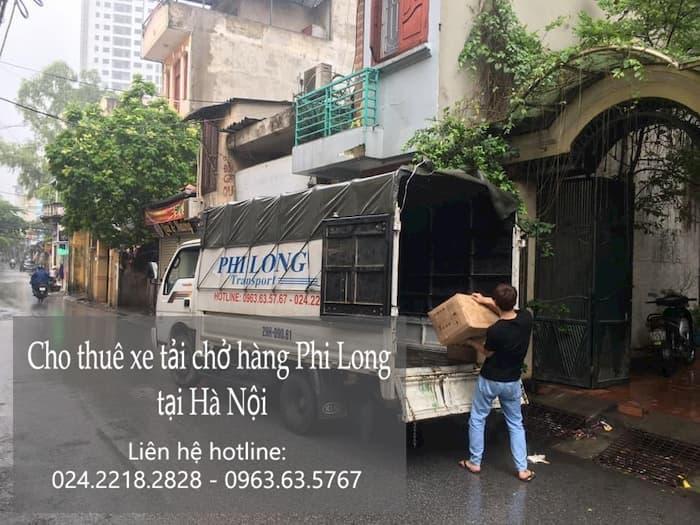 Dịch vụ cho thuê xe tải tại phố Nguyễn Công Thái