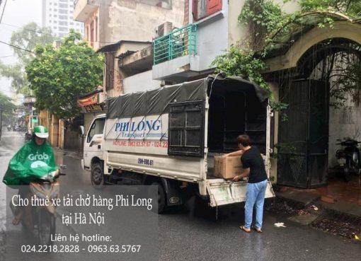 Dịch vụ cho thuê xe tải tại phố Phương Trạch