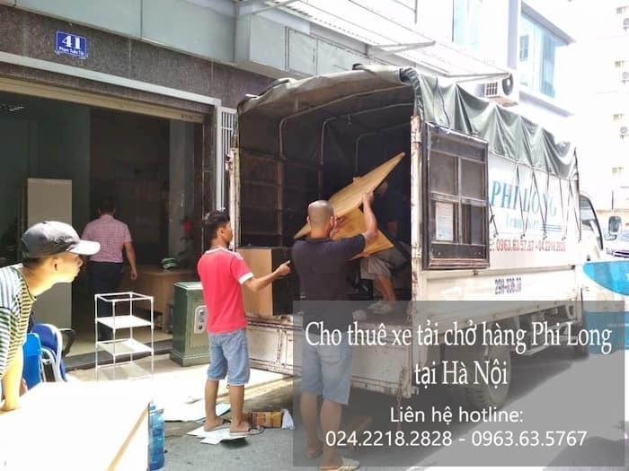 Dịch vụ cho thuê xe tại phố Nguyễn Thực