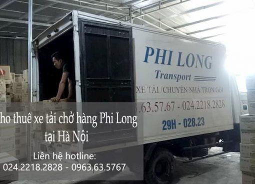 Dịch vụ cho thuê xe tải tại phố Kim Hoa