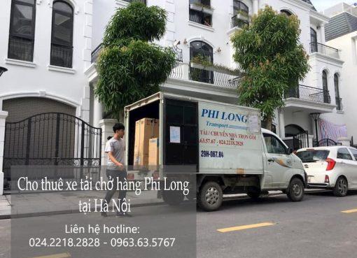 Dịch vụ xe tải giá rẻ Phi Long tại phố An Dương Vương