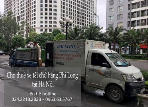 Cho thuê taxi tải uy tín Phi Long tại phố Đặng Thùy Trâm.