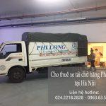 Dịch vụ thuê xe tải giá rẻ Phi Long tại phố Bùi Xuân Phái