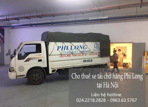 Dịch vụ cho thuê xe tải Phi Long tại phường Hàng Gai