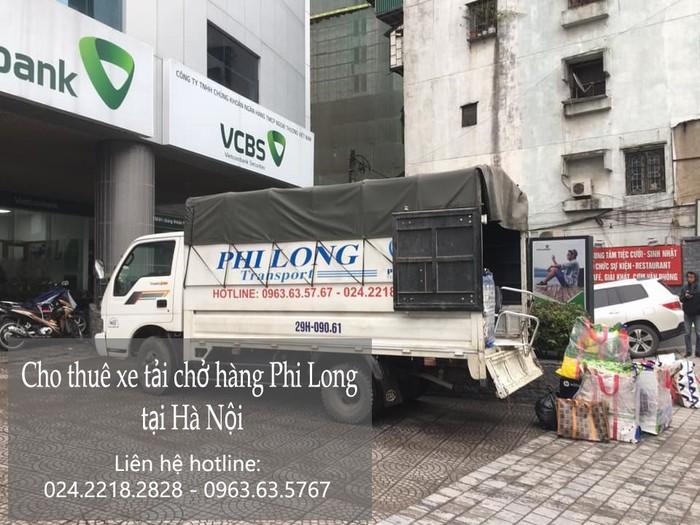 Dịch vụ xe taxi tải giá rẻ Phi Long tại phố Cầu Diễn