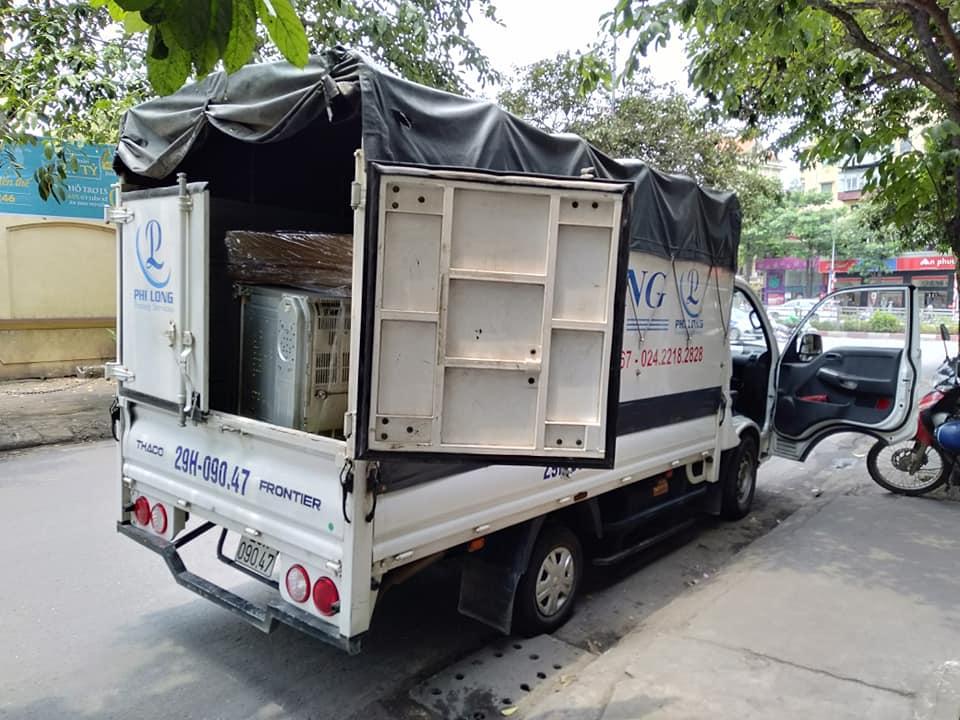 Cho thuê taxi tải chuyên nghiệp Phi Long tại phố Đức Diễn
