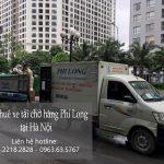 Dịch vụ cho thuê xe tải Phi Long tại phường Thanh Nhàn