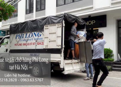 Cho thuê taxi tải uy tín Phi Long tại đường Hồ Tùng Mậu