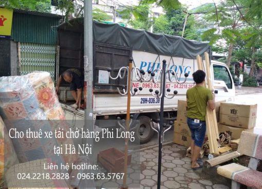Dịch vụ xe tải giá rẻ Phi Long tại phố Hoàng Tăng Bí