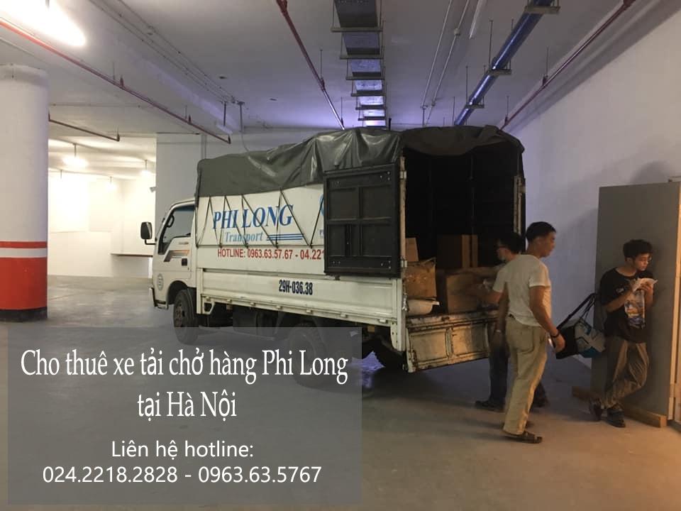 Cho thuê xe tải giá rẻ Phi Long tại phố Đông Ngạc