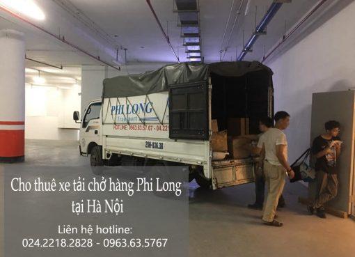 Dịch vụ cho thuê xe tải tại phường Trúc Bạch
