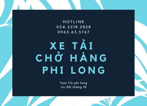 Chở hàng thuê uy tín Phi Long tại phố Kim Giang