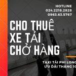 Dịch vụ cho thuê xe tải Phi Long tại phố Ngọc Hồi