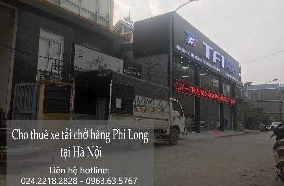 Cho thuê xe tải chất lượng Phi Long tại phố Đào Duy Tùng