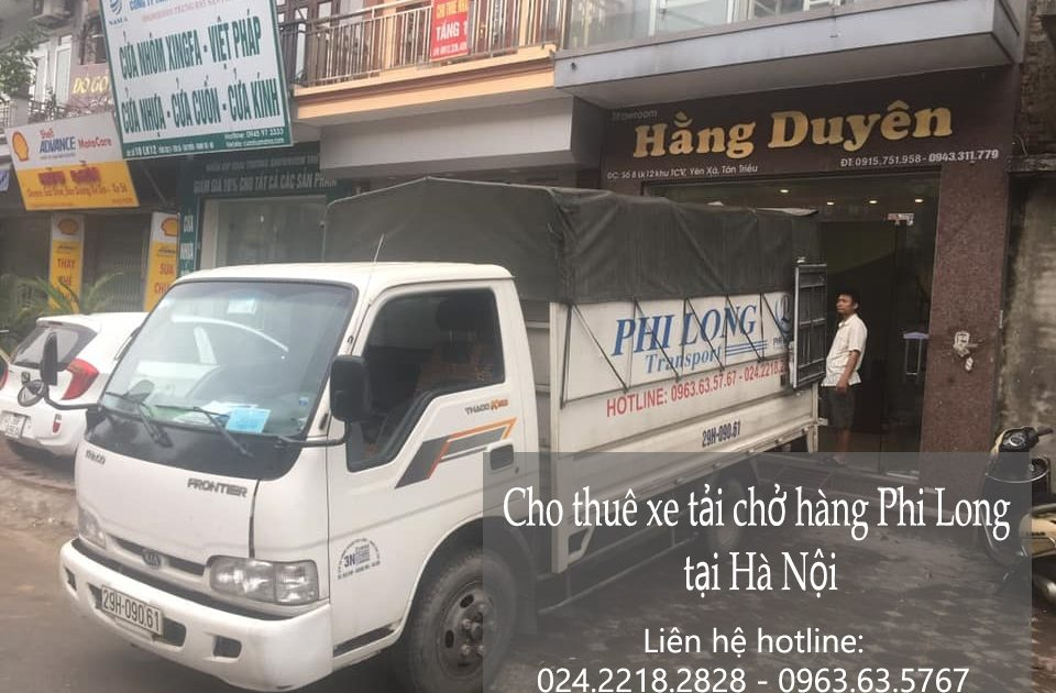 Dịch vụ taxi tải tại xã Văn Đức