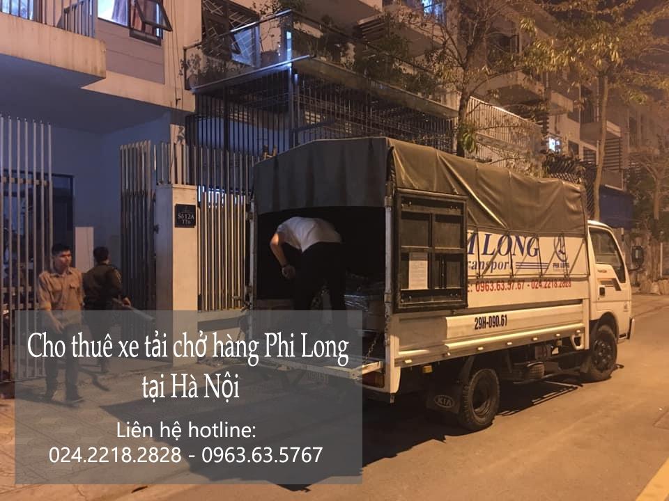 Hãng cho thuê xe tải giá rẻ Phi Long phố Cao Bá Quát