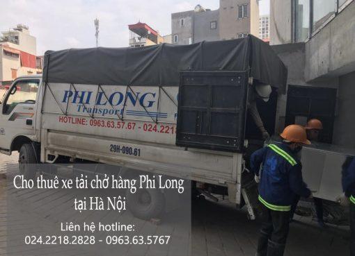 Cho thuê xe tải chất lượng Phi Long phố Thể Giao