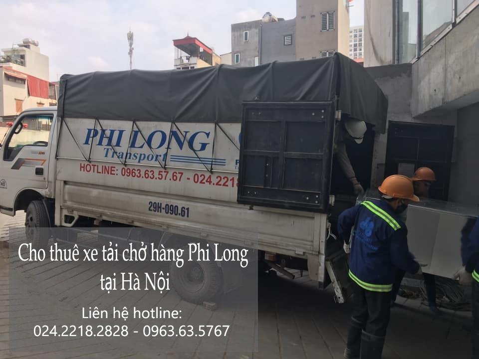 Cho thuê xe tải uy tín Phi Long đường Nguyễn Khoái