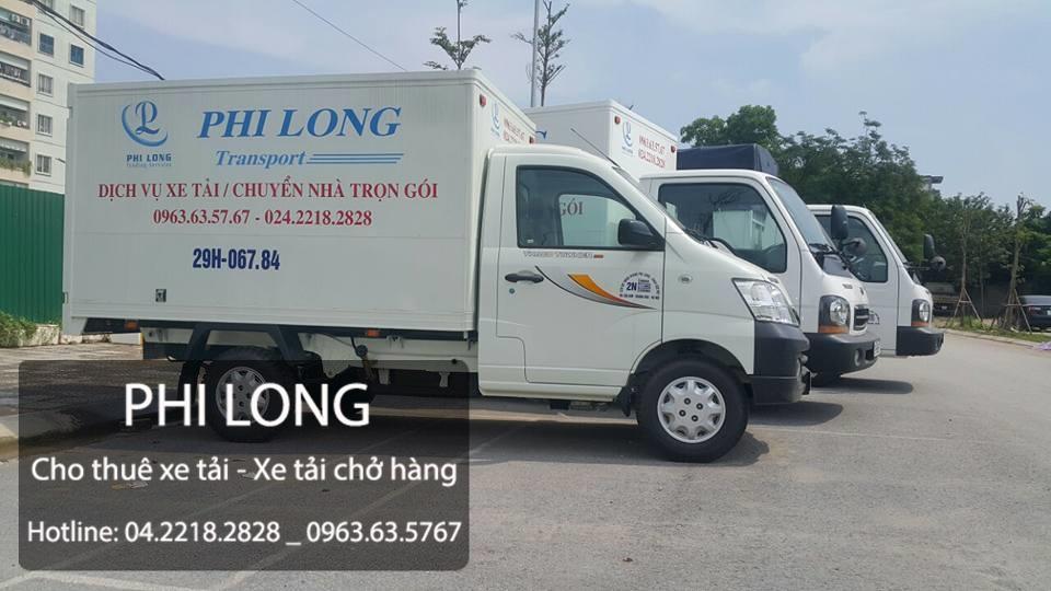 Dịch vụ cho thuê xe tải tại quận hà đông
