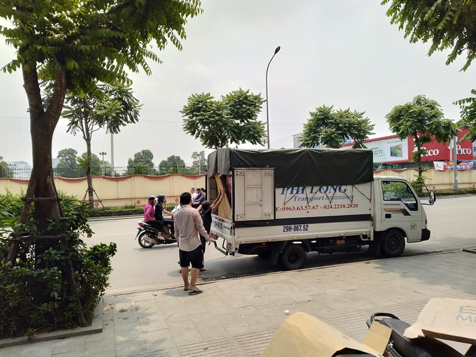 Cho thuê taxi tải giá rẻ Phi Long phố Lê Gia Đỉnh