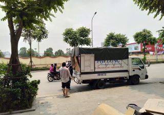 Taxi tải cho thuê giá rẻ Phi Long phố Bạch Mai