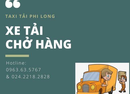Dịch vụ cho thuê xe tải Phi Long tại xã Đại Xuyên