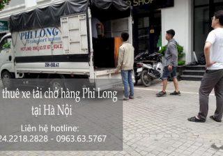 Dịch vụ thuê xe tải chất lượng Phi Long phố Bạch Mai