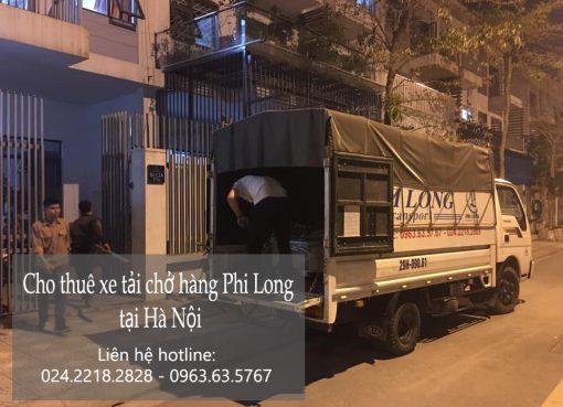 Dịch vụ cho thuê xe tải giá rẻ Phi Long tại đường Phú Đô