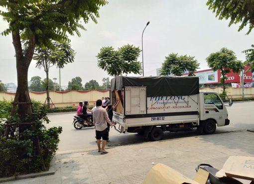 Dịch vụ cho thuê xe tải Phi Long tại xã Hữu bằng