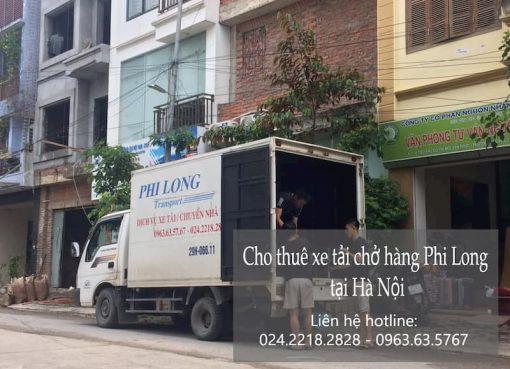 Dịch vụ cho thuê xe tải Phi Long tại đường hồng hà