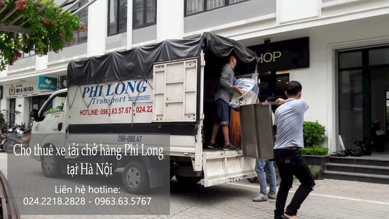Dịch vụ cho thuê xe tải Phi Long tại phố Đại La