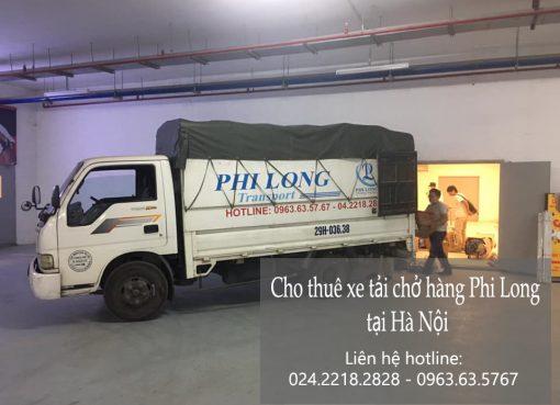 Dịch vụ cho thuê xe tải tại đường chu huy mân