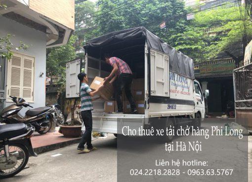 Dịch vụ cho thuê xe tải Phi Long tại đường bùi thiện ngộ