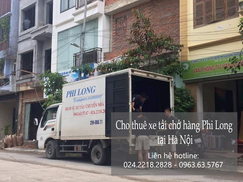 Dịch vụ cho thuê xe tải giá rẻ tại đường vũ tông phan