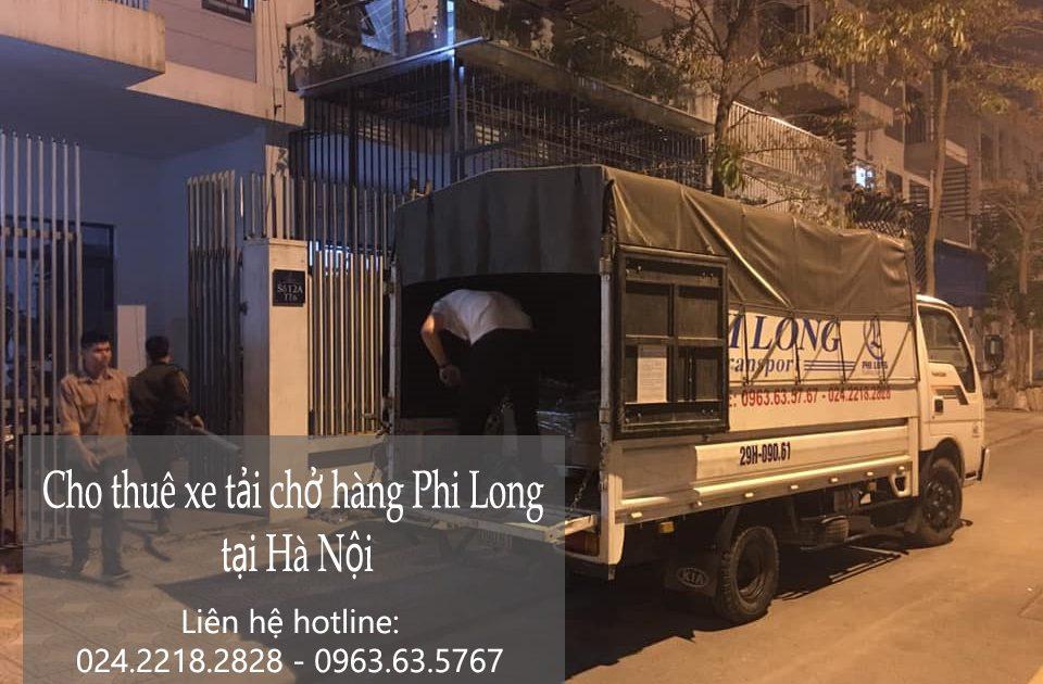 Dịch vụ cho thuê xe tải Phi Long tại đường định công hạ