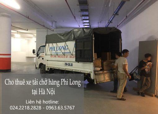 Dịch vụ tải cho thuê xe tải tại đường Nguyễn Đức Thuận.