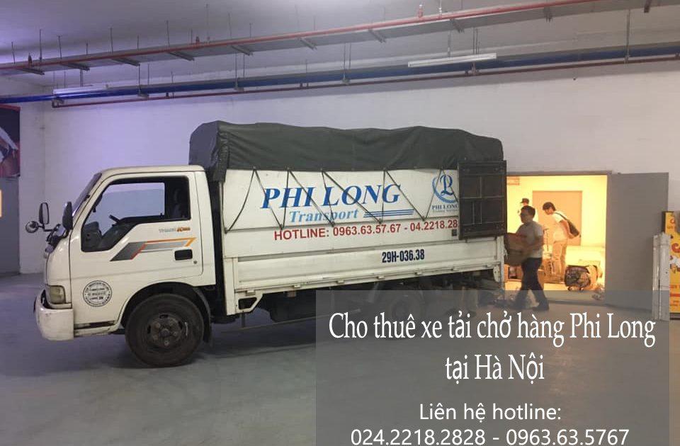 Cho thuê xe tải giá rẻ đường Tân Thụy.