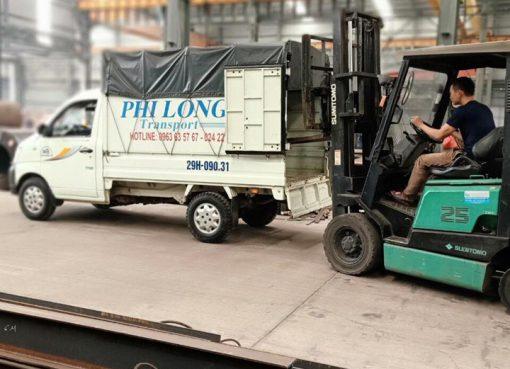 taxi tải giá rẻ Phi Long tại quận Đống Đa