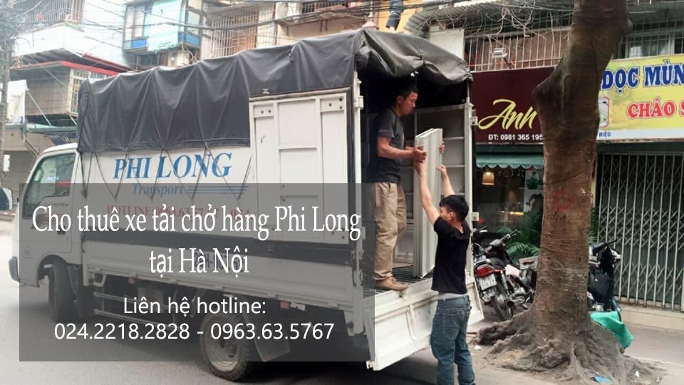 Dịch vụ cho thuê xe tải tại đường Nguyễn Thượng Hiền