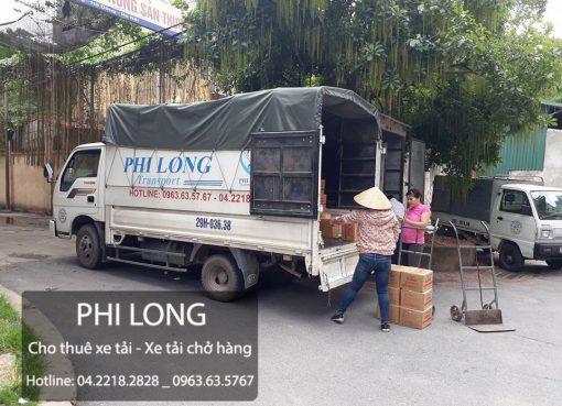 Cho thuê xe tải giá rẻ đường Lâm Hạ.