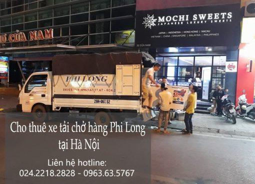 Dịch vụ thuê xe tải 5 tạ tại phố Đặng Xuân Bảng