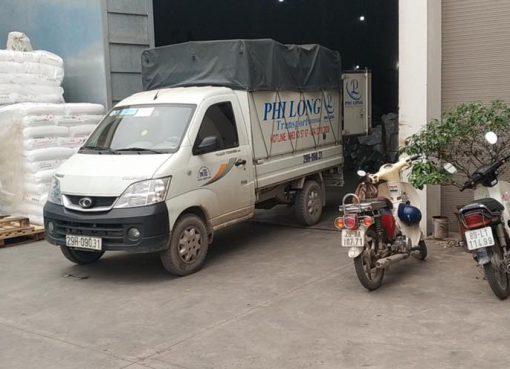 Xe chở hàng Phi Long tại quận Hoàn Kiếm