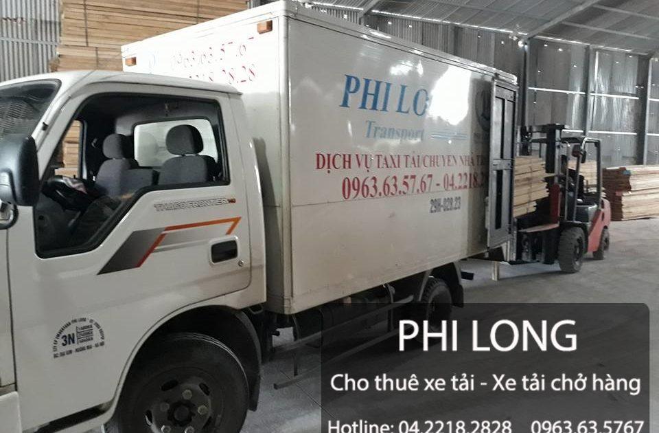 Hãng xe tải chất lượng Phi Long đường Phạm Đình Hổ