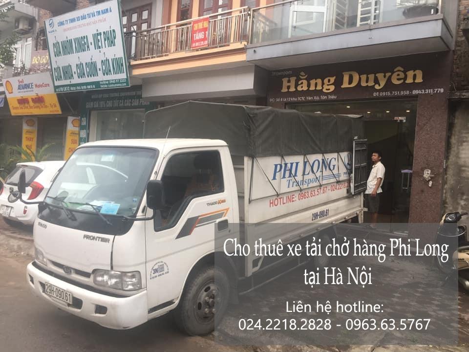 Xe tải chở hàng từ phố Đặng Tất đi Hải Dương