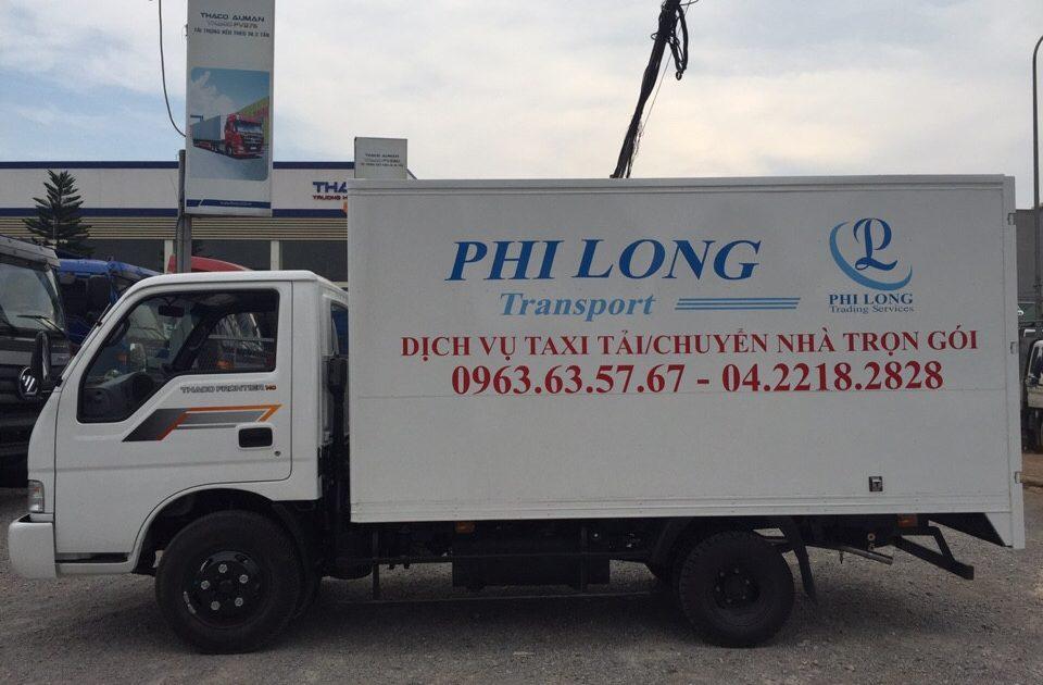 Cho thuê xe tải giá rẻ phố Lê Văn Linh đi Hòa Bình