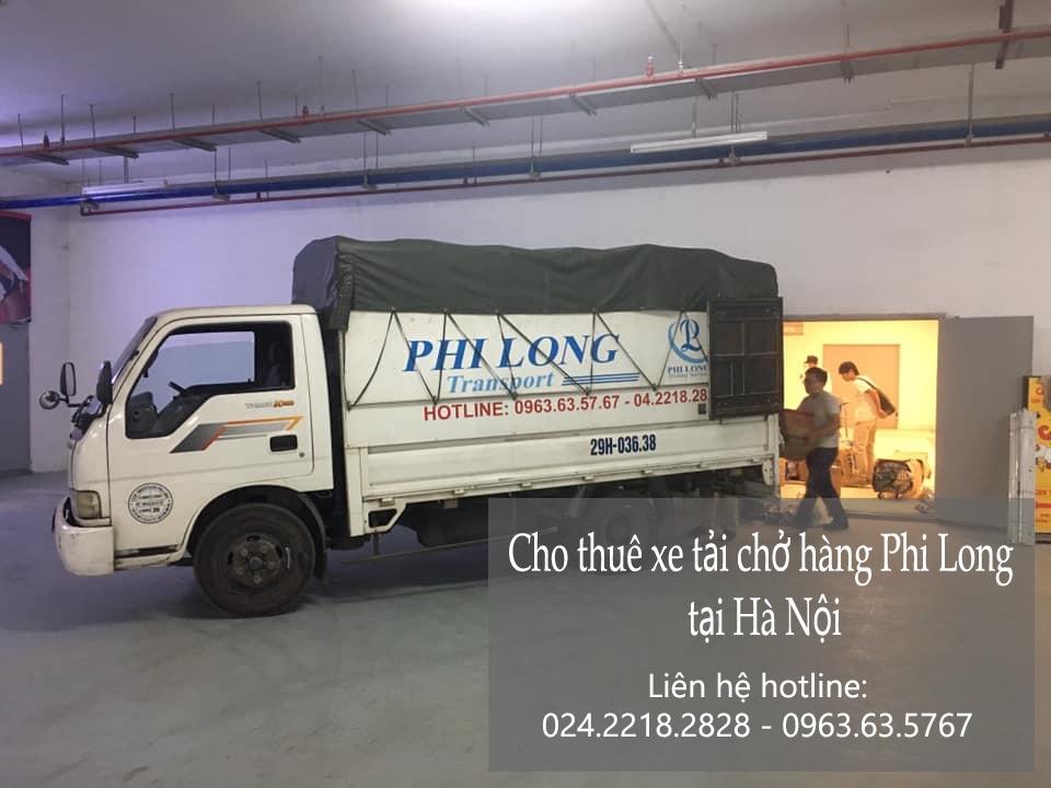 Cho thuê xe tải giá rẻ phố Tràng Tiền đi Hòa Bình