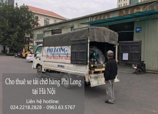 Cho thuê xe tải giá rẻ phố Lò Rèn đi Hòa Bình