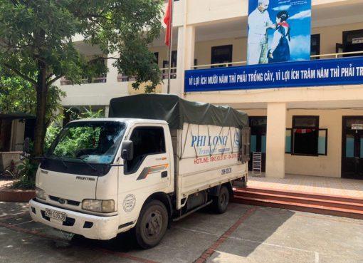 Cho thuê xe tải giá rẻ phố Nguyễn Văn Tố đi Hòa Bình