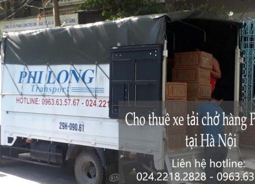 Cho thuê xe tải giá rẻ tại đường Nguyễn Xiển đi Hải Phòng